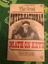 Book: The Great International Math on Keys by M. Dean LaMont and Oliva in Naperville, Illinois