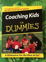 Coaching Kids For Dummies Wolff, Rick Paperback Used - Very Good in Chicago, Illinois