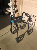 Drive Clever Lite Foldable Walker in Travis AFB, California