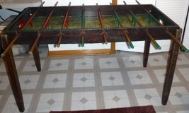 Antique Wood Foosball Table ~ Handmade in Orland Park, Illinois
