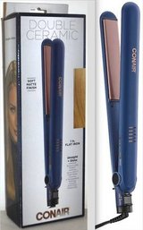 "New! Conair 1"" Flat Iron ~Mod# CS221SN ~ Blue/Rose Gold in Westmont, Illinois"