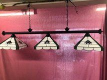 3 shade pool table light in Chicago, Illinois