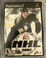 ps2 game NHL 2002 in Plainfield, Illinois