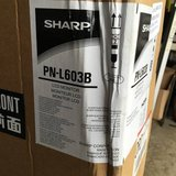 "Sharp PN-L3B - 60"" Class (60-1/16"" diagonal) interactive display syste in Joliet, Illinois"