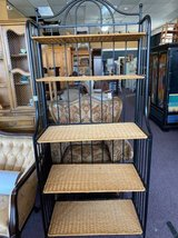 Wicker Bakers Rack in St. Charles, Illinois