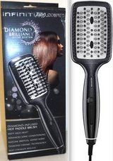 New! InfinitiPRO Diamond-Infused Ceramic Smoothing / Straightening Hot Brush in Chicago, Illinois