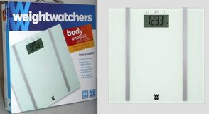New! WeightWatcher Conair WW706F Digital Glass Body Analysis Scale in Westmont, Illinois