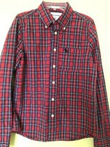 Boys plaid shirt Abecrombie size XL (12) in Aurora, Illinois