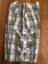 Boys plaid shorts size 16 Lee in Chicago, Illinois