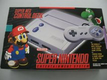 super nintendo entertainment system super nes control deck 16-bit video game sys in St. Charles, Illinois