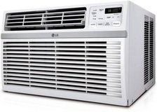 BRAND NEW LG24,500 BTU 230V Window-Mounted AIR Conditioner with Remote in Westmont, Illinois