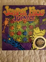 Jumpin Frog Jumble a tile puzzle game in Camp Pendleton, California