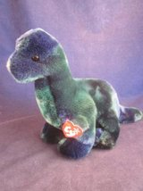 TY Beanie Buddies Set of 5 Dinosaurs NEW TAGS in Bolingbrook, Illinois