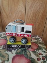 J'Adore Paris Nature Wood Toy Ambulance. in Houston, Texas