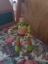 "TMNT Teenage Mutant Ninja Turtles Michaelangelo 6"" Action Figure 2014 Viacom in Houston, Texas"