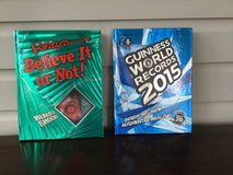 2 Hardcover Books for Kids: Guiness Book of World Records + Ripley's in Chicago, Illinois