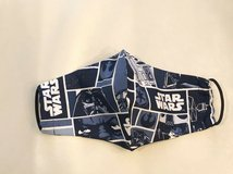 star wars adult face mask handmade olson pattern unisex 100% cotton washable in Naperville, Illinois