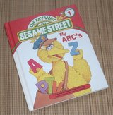 Vintage 1989 My A B C On My Way with Sesame Street Volume 1 Hard Cover Book in Yorkville, Illinois