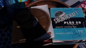 """Ten 7"""" Reel-to-reel Tapes $2 ea(Photos show content info) in Fairfield, California"""