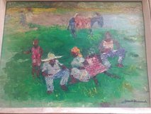 Original Haitian Oil Painting by Gesner Armand in Kansas City, Missouri