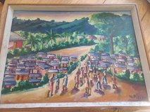 Original Haitian Oil Painting by Wilner Pierre in Kansas City, Missouri