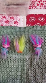"2015 Dreamworks HASBRO 4"" Trolls!  Cute  Dolls!!  3pcs in Houston, Texas"