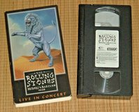 Vintage 1998 Rolling Stones Bridges To Babylon VHS Live In Concert Jagger in Plainfield, Illinois