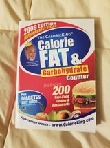 Calorie fat and Carbohydrate counting book in Camp Pendleton, California