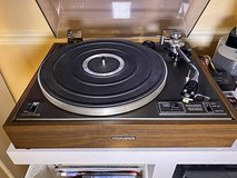 Vintage Pioneer PL 12D Woodbase turntable with Ortofon in Aurora, Illinois