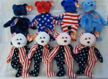 patriotic (ty) beanie babies in Fort Campbell, Kentucky