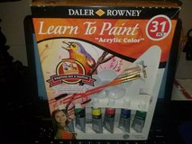 "Daler Rowney Learn To Paint ""Acrylic Color 31PCS (T=1) in Fort Campbell, Kentucky"