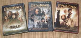 Lord of The Rings DVD Lot 6 Disc Trilogy Fellowship Two Towers Return King in Chicago, Illinois