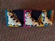 Large cat design hair barrette in Camp Pendleton, California