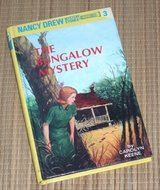Vintage 1995 Nancy Drew The Bungalow Mystery Hard Cover Book 3 in Yorkville, Illinois