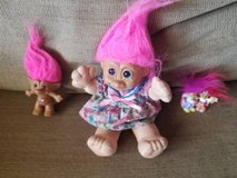 Vintage Trolls from the 80's in excellent shape in Camp Pendleton, California