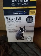 Therapedic new in box weighted pet vest in Camp Pendleton, California