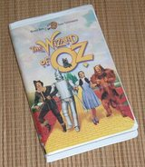 Vintage 1999 The Wizard of Oz VHS Clam Shell Case Judy Garland in Yorkville, Illinois