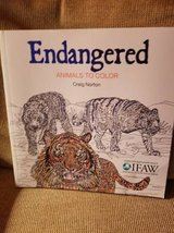 New coloring book of Endangered animals in Camp Pendleton, California