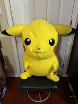 "Giant 32"" PIKACHU POKEMON PLUSH ANIMAL TOY YELLOW LICENSED in Travis AFB, California"