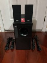BOSE ACOUSTIMASS 5 SERIES II SPEAKER SYSTEM with SUBWOOFER in Travis AFB, California