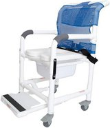 Deluxe Rolling Shower Chair - New! in Aurora, Illinois