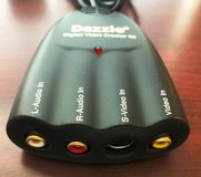 DAZZLE - DVC-80 Digital Video Creator 80 Video Capture Device RCA USB Cable in Westmont, Illinois