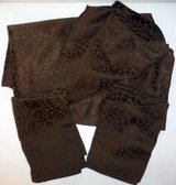 Like New! Queen Duvet Cover / Shams Set ~ Thomas O'Brien ~ Choc Brown in Orland Park, Illinois