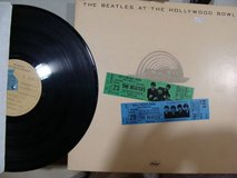 THE BEATLES AT THE HOLLYWOOD BOWL VINYL RECORD in Bartlett, Illinois