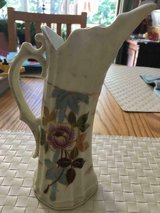 ANTIQUE PORCELAIN VICTORIA CARLSBAD AUSTRIA HAND PAINTED PITCHER in Quantico, Virginia