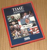 Time Annual 2005 Hard Cover Book w Dust Jacket Time Life Books Time Magazine in Morris, Illinois