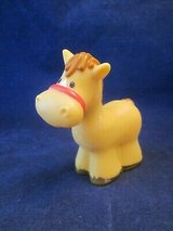 Fisher Price Little People FPLP Horse, Baby in Basket, Hawaiian in Aurora, Illinois