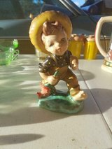 """Vintage Ceramic 6"""" Boy With Hat Figurine! Very Old and Unique! in Bellaire, Texas"""