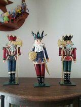 """Home Interiors / HOMCO~ 3 Tin Metal Soldiers Each Approx. 13"""" Tall in Bellaire, Texas"""