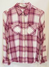 JUNIOR PLAID SHIRT BLOUSE SIZE SMALL * SO SOFT in Naperville, Illinois